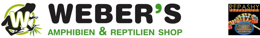 Webers Amphibilen und Reptilien Shop